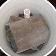 Diy filter drip through biofilter for 90 gallon pond liner